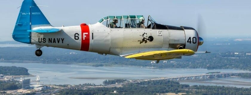 CAF Capital Wing Performs Flyover in Honor of WASP Elaine Harmon